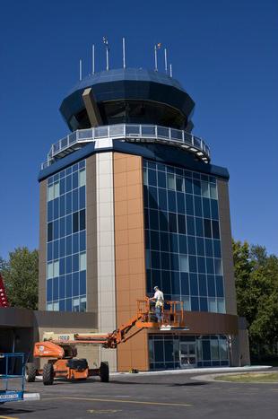Cfb Air Traffc Control Tower Stouffville Glass Inc