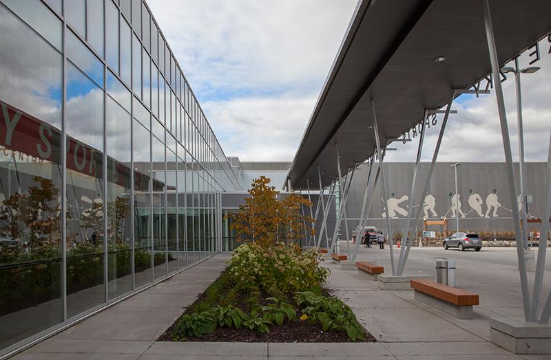 Wayne Gretzky Sport Complex Stouffville Glass Inc