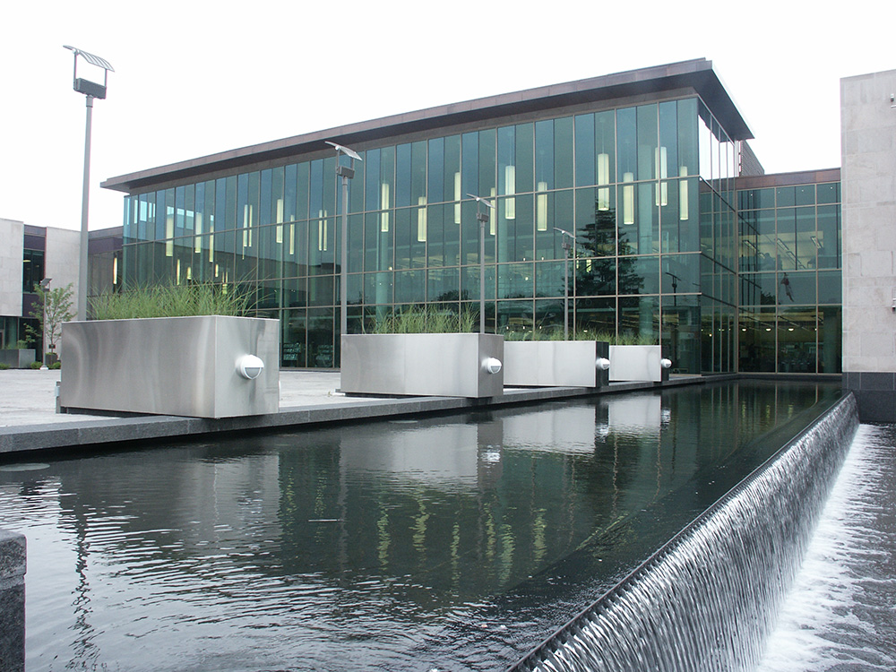 Whitby Public Library Amp Civic Square Stouffville Glass Inc