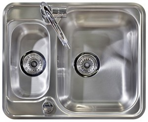 Wide Kitchen Sink