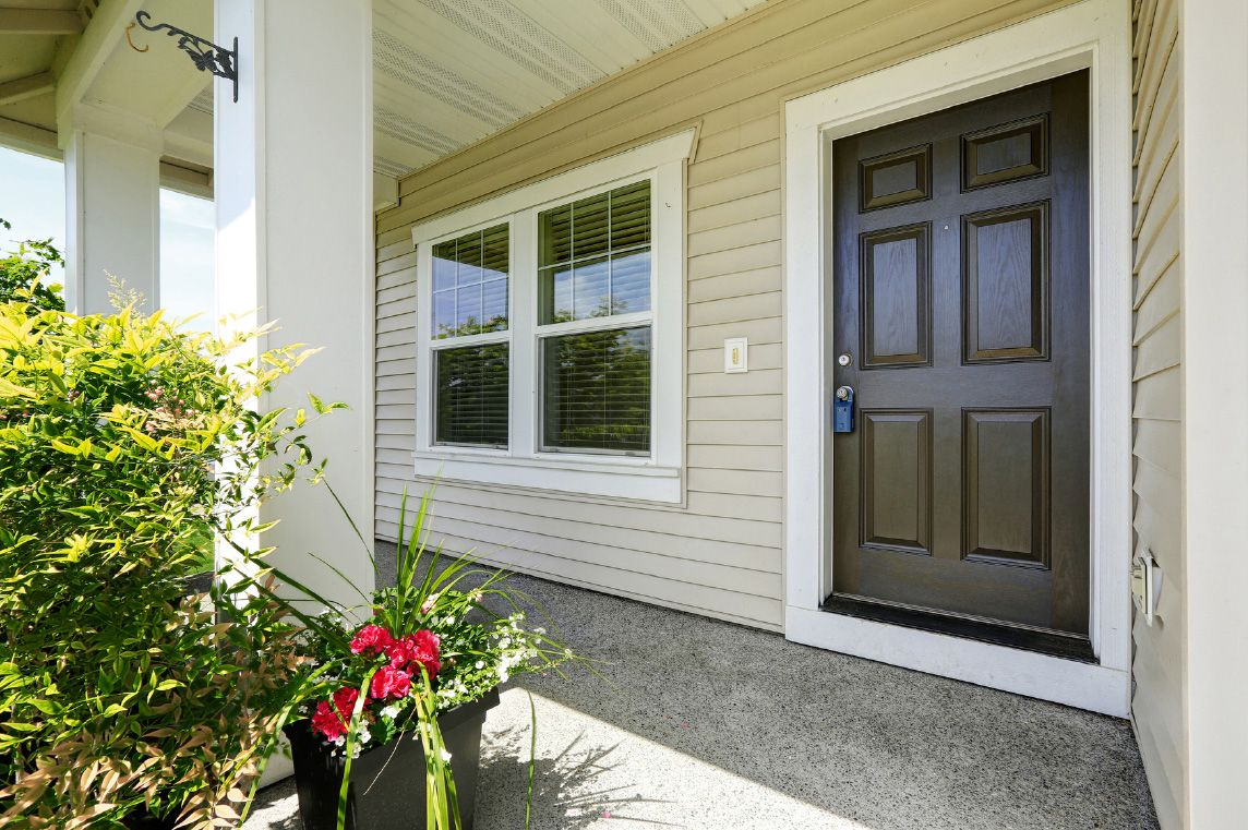 Exterior doors should they match your windows for Exterior doors and windows
