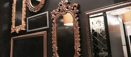 Ways to use mirrors in home